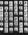 Academic Staff 1972 - Contact sheet N