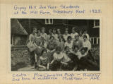 Blue notebook - 2nd year students and staff, Stockbury 1923