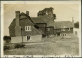Black card (Miss Pugh's farm) - The Hill Farm house, Stockbury 1924
