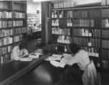Students in the Technology Reference Library, 1973