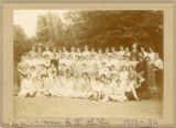 Group photo of Gipsy Hill students and staff, 1922-24