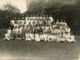 Group photo of Gipsy Hill students and staff, 1930