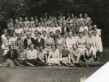 Group photo of Gipsy Hill students and staff, July 1933