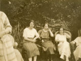 Brown envelope - Students in the garden