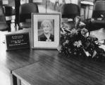 Lillian de Lissa commemorative display