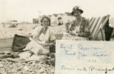 Index card 1933 - Gipsy Hill student and Lillian de Lissa