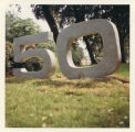 Boots photographic wallet - Stone sculpture of the number 50