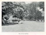Prospectus c.1922-23 - One of the gardens