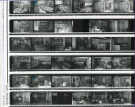 Contact sheets - Canbury Park Library move / Technical Services move