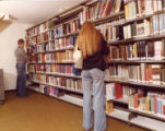 File: College life 1970s - Students in the library