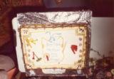 John Maher retirement - John Maher's retirement cake