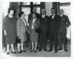 Unlabelled file - Group including Mrs Bidmead and Frances Batstone (first and second from left)