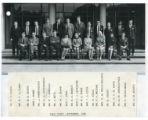 Staff photos 1965-70 - New staff, September 1968
