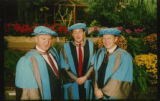 File: Science Graduation - Contact sheet - Honorary degree recipients (image 5 from Box labelled Graduation Ceremonies and Awards; No 4)