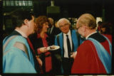 File: Science Graduation - Contact sheet - Academics and guests (image 1 from Box labelled Graduation Ceremonies and Awards; No 5)
