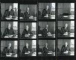 File: Dr Leonard Lawley - Contact sheet of Len Lawley photographs