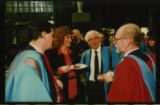 File: Science Graduation - Contact sheet - Academics and guests (image 2 from Box labelled Graduation Ceremonies and Awards; No 5)
