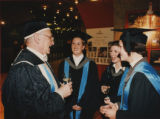 File: Miscellaneous Graduations undated - Frank Lampl and graduates
