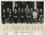 File: Staff 1954-1970 and miscellaneous 1 - Department of Geology and Geography, September 1966