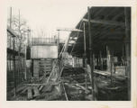 File: Archives photographs (from store); Kingston Hill, building of library - Construction site