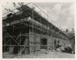 File: Archives photographs (from store); Kingston Hill, building of library - Exterior under construction