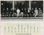 File: Staff 1954-1970 and miscellaneous 2 - Liberal Studies Section, September 1968