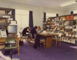 Kingston Hill - Students in the library