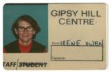 Blue Photo Album 2 - Irene Owen, Gipsy Hill Centre