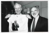 School of Geology Golden Anniversary celebrations, 18th-19th Jan 1996 - Mayor David Twigg and guest