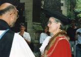 Kingston University Inauguration - Mayor Jane Smith and others outside All Saints Church