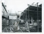 File: Library, Kingston Hill construction - Exterior under construction