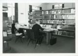 File: Kingston Hill Library, Summer 1982 - Students in the Periodicals area